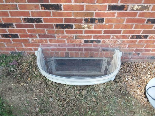 Sunhouse Window Well Replaced Old Basement Window in Freeburg, IL