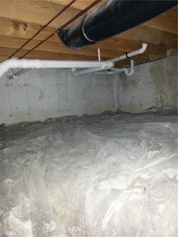 Rainy Alton, IL Crawl Space Waterproofed with a CleanSpace Encapsulation System