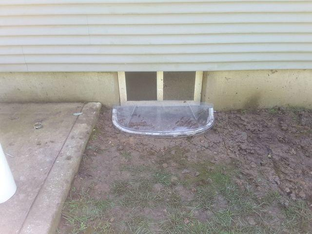 Bright and Clean SunHouse Window Enclosure in Hillsboro Basement
