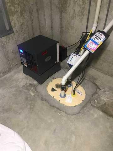Drying the Basement with a Sedona and TripleSafe™