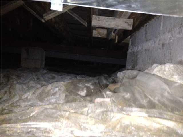 Protecting a Crawlspace in Sappington, MO.