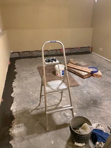 Wet Basement in Union, Missouri