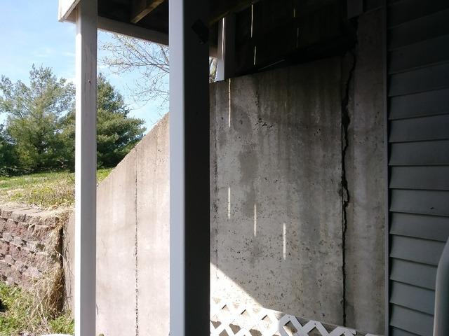 Stabilizing Outside Foundation with GeoLock Anchor System