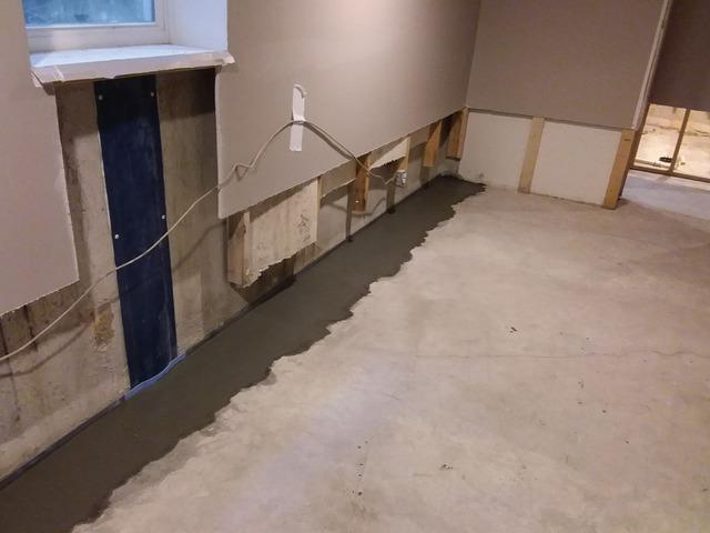Finished Basement Damaged by Rainwater in Lakewood, IL