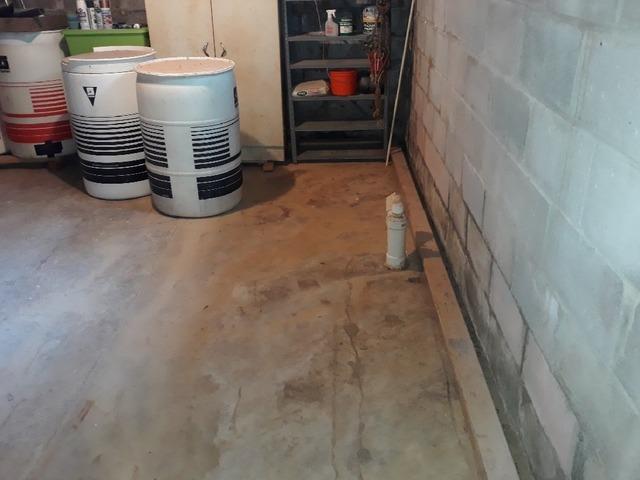 Waterproofing a Basement in Harviell, Illinois