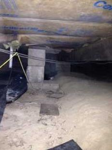 Crawl Space Encapsulation with Clean Space