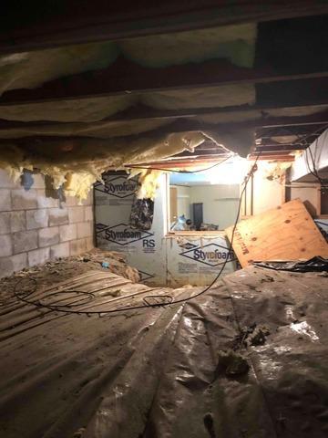 Sealing Morehouse, Missouri Crawl Space