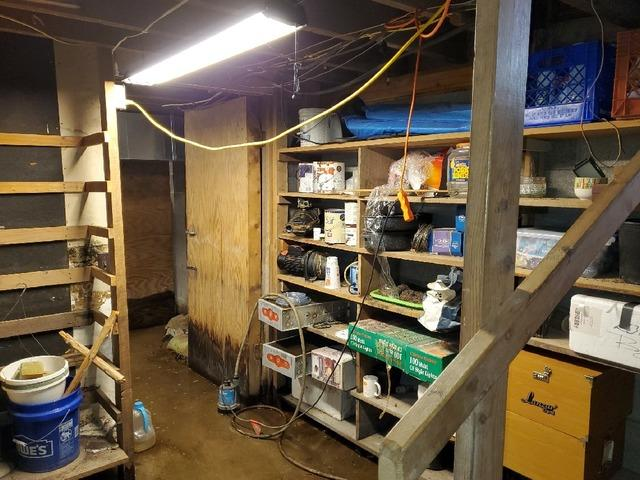 Water Damaged Basement in Geff, Illinois