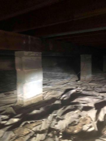 Installing CleanSpace in a Crawlspace