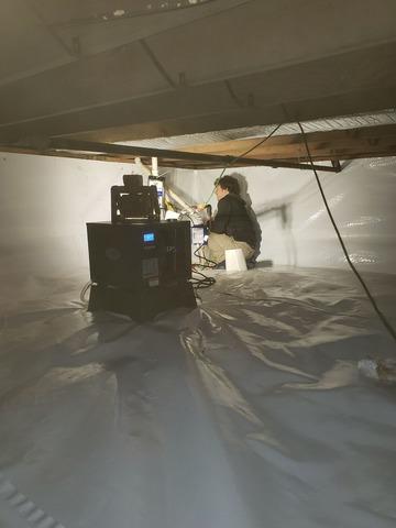 Sealing Crawl Space for Storage