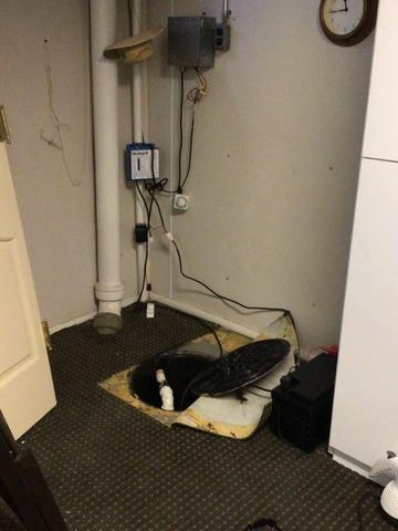Faulty Sump System Replaced with TripleSafe in Clayton, MO