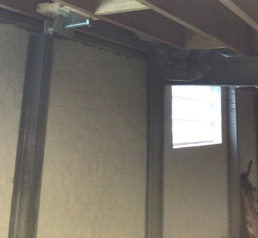 Cracks Around Wall Anchors Fixed with PowerBrace in St. Louis, MO