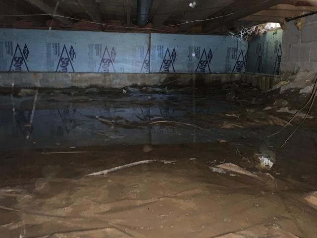 Water Pooling in Crawlspace Eliminated With SmartSump in O'Fallon, MO