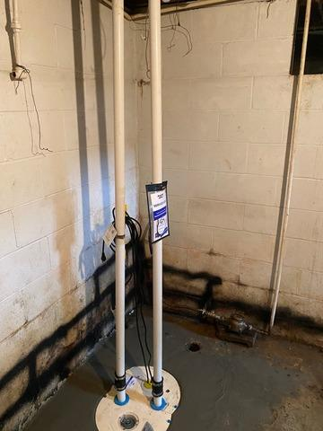 WaterGuard™ and a New Sump Pump