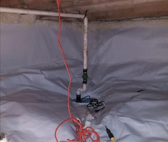 Moldy Crawlspace Cleaned with CleanSpace