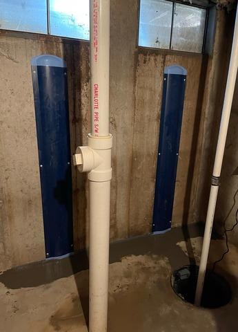 WellDuct Prevents Egress Window Water Seepage in Manchester, Missouri