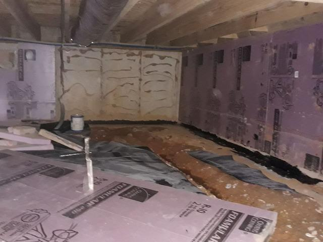 Crawlspace Sealed with CleanSpace