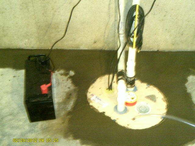 New Sump Pump in Mascoutah, IL