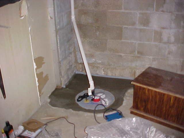 Failed Sump Pump in Columbia, IL