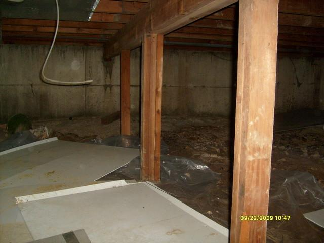 Encapsulating An Arnold, MO Crawl Space