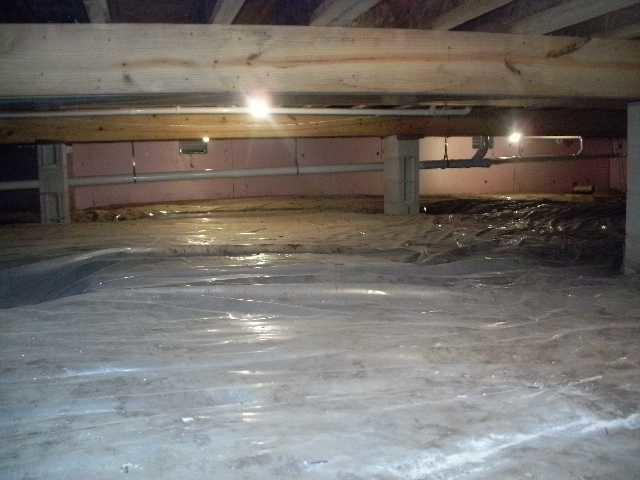 Crawl Space Vapor Barrier in Murphysboro, IL