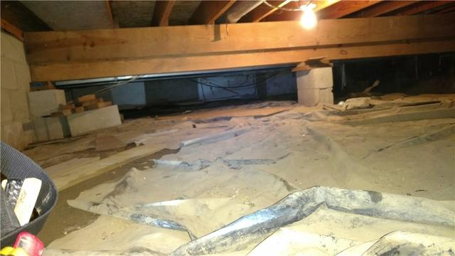 Family Has Crawlspace Redone in Mahomet, IL