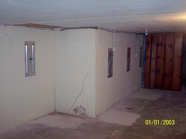 Anchors Support Granite City, IL Basement Wall