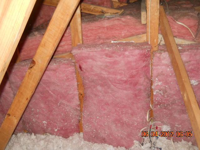 Spray Foam Insulation in Highland, IL Attic Kneewall