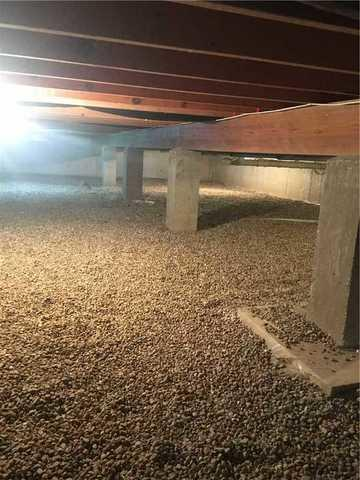 CrawlSpace Revamped with CleanSpace Liner in Mechanicsburg