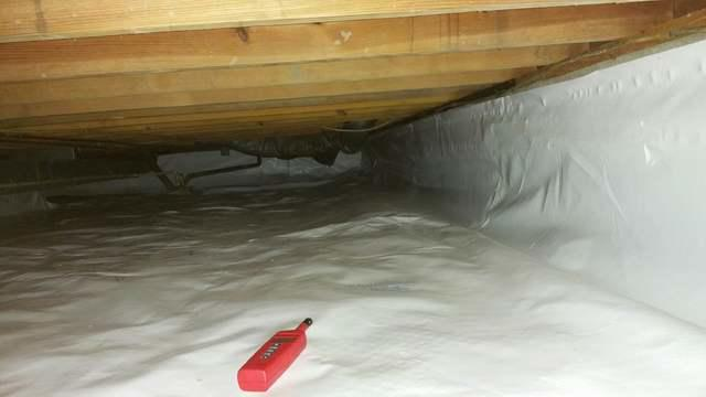 Crawlspace Sealed in Flora, IL