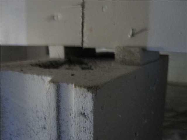Crawl Space Support Pillars Settling in Effingham, IL