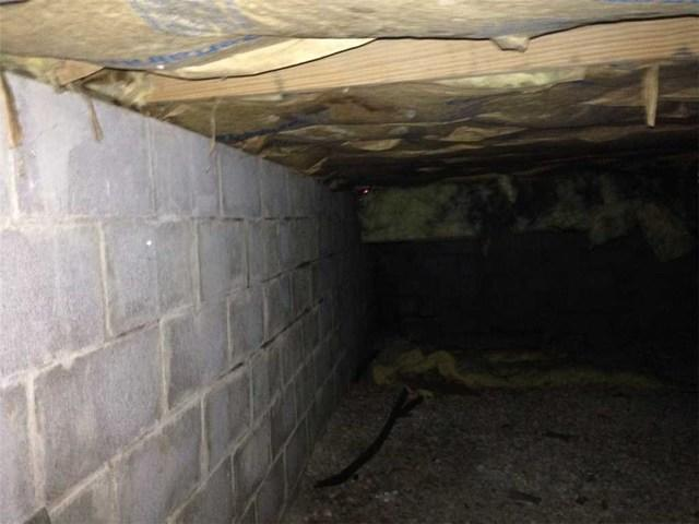 Musty Crawl Space Restored in St. Louis, MO