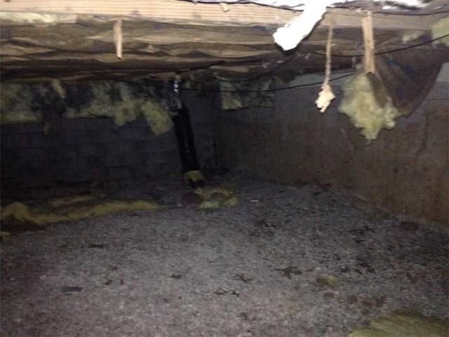 Clean, Dry Crawl Space in St. Louis
