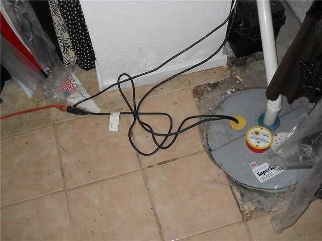 Can you find the sump pump in Glen Carbon, IL