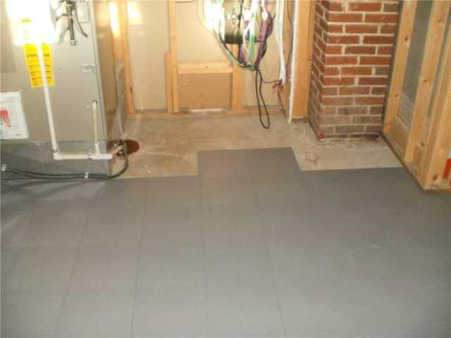 Wood Basement Sub-Floor in Troy, IL