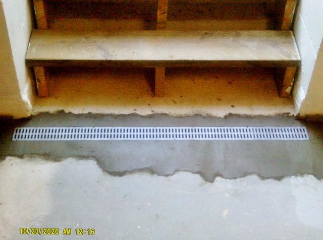 Basement Stairwell Leak in Jacksonville, IL Solved