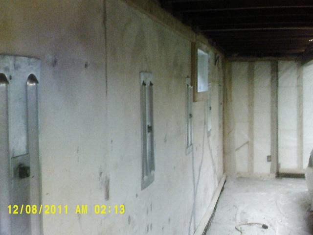 Bowed Walls Straightened in Collinsville, IL Basement