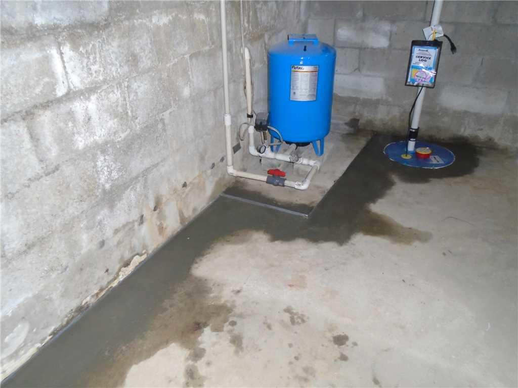 Basement Waterproofing & Sump Pump Installation in Fairview, NC - After Photo
