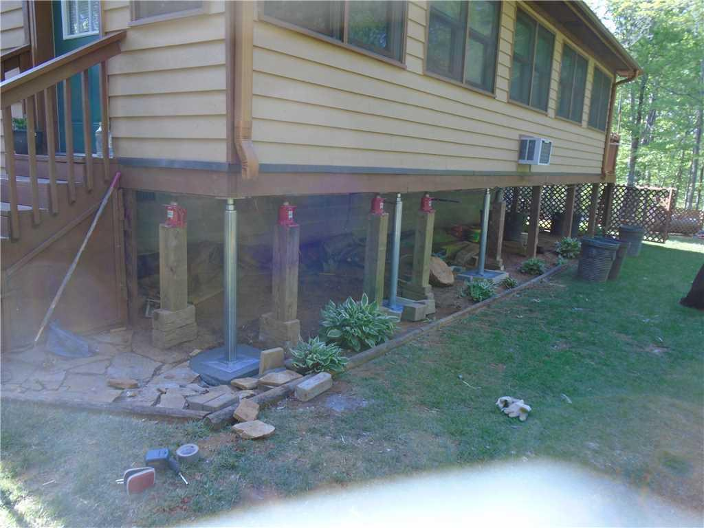 Foundation Repair in Murphy, NC - After Photo