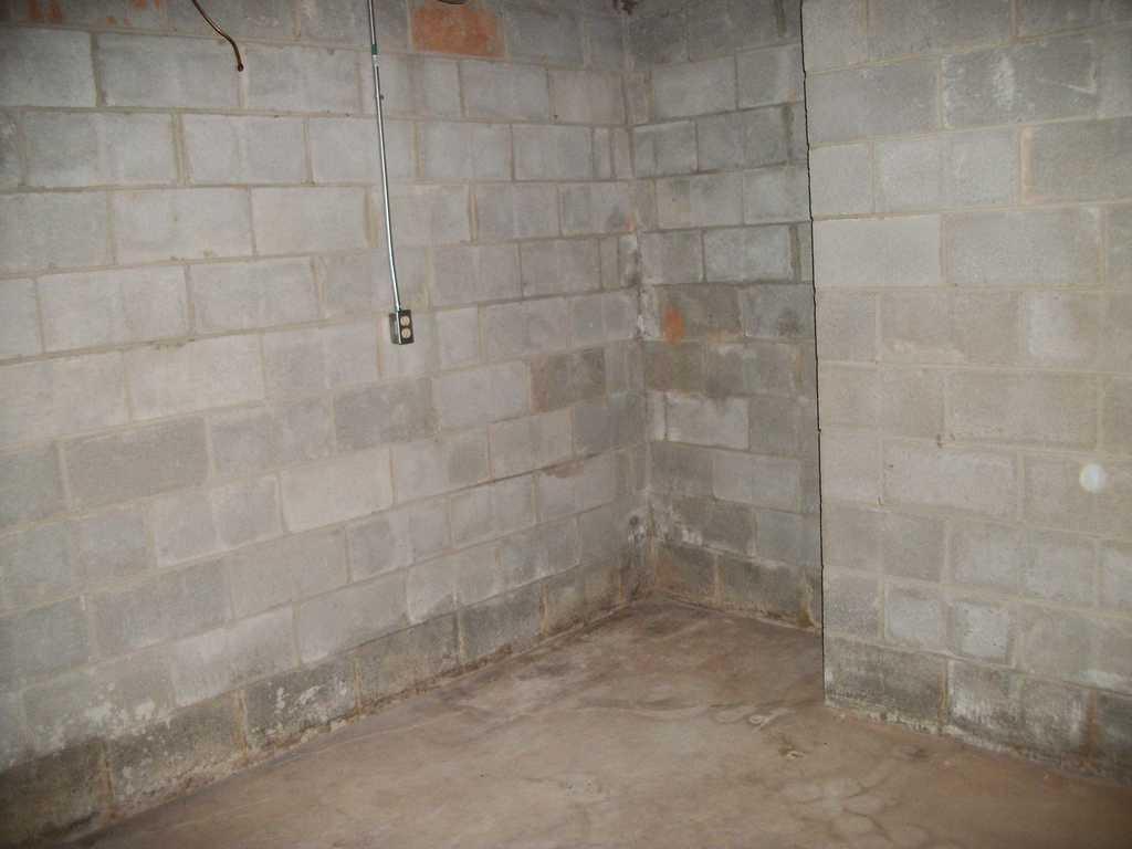 Sump Pump Installation in Landrum, SC - Before Photo