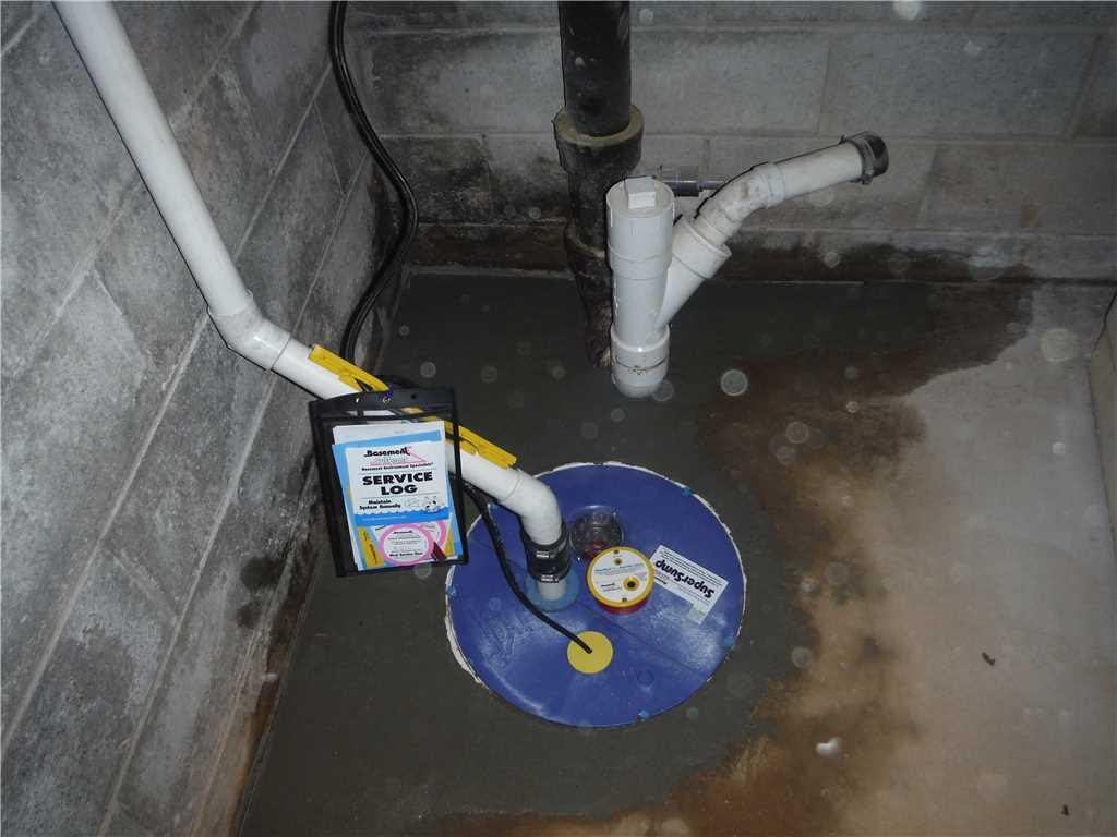 Sump Pump Installation in Troy, SC Basement - After Photo