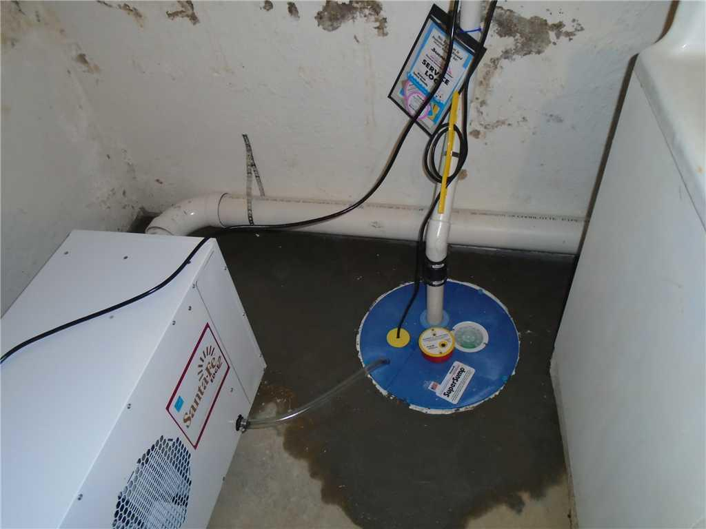 Clyde, NC Homeowner Gets New SuperSump Pump and Waterproofing System - After Photo