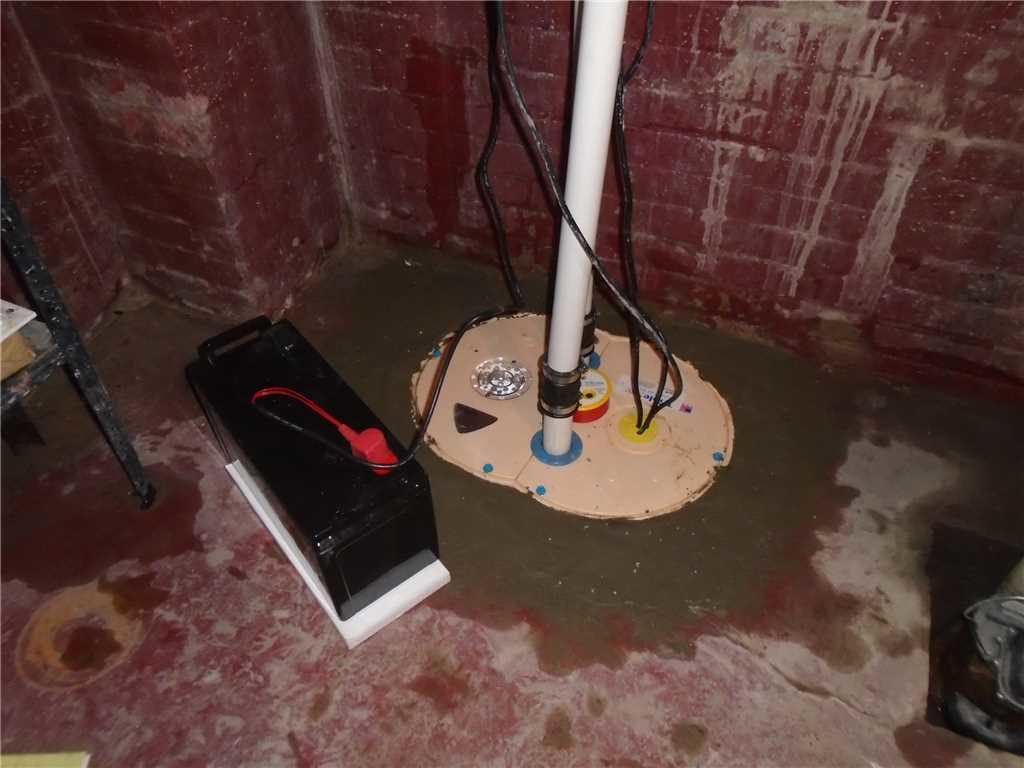 Old Sump Pump in Columbia, SC Basement Replaced with TripleSafe Sump System - After Photo