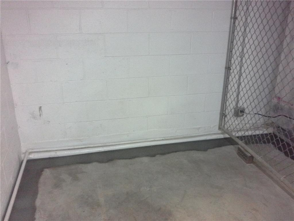 Water Coming Into Tryon, NC Basement Has WaterGuard Drain Installed - After Photo