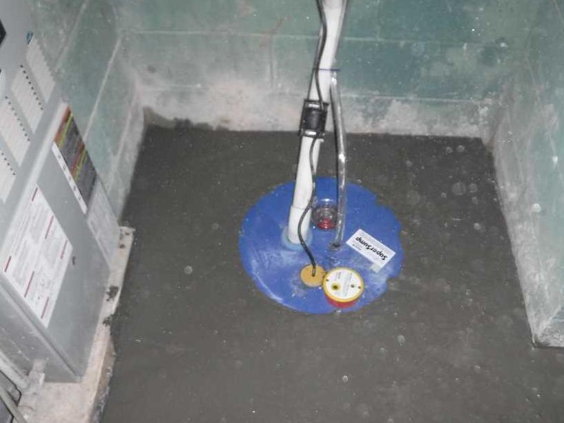 Brevard, NC Basement Has SuperSump Installed in Perfect Position - After Photo