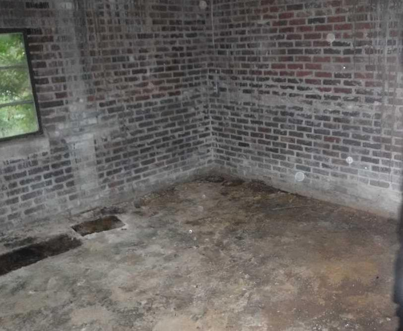 Greenwood, SC Basement is Saved by CleanSpace and SuperSump - Before Photo