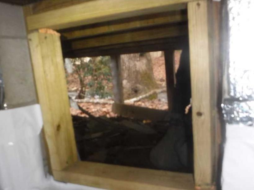 EverLast Door added to Crawlspace - After Photo