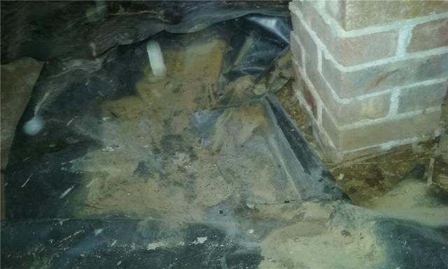 Wet Crawlspace in Simpsonville, SC