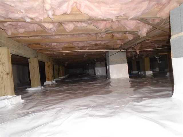 Crawlspace Encapsulation with CleanSpace in Old Fort, NC - After Photo