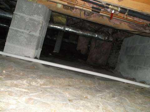Crawl Space Encapsulation & CleanSpace Installation in Clinton, SC